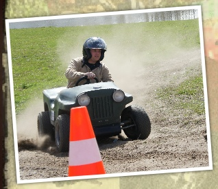 downhill jeep door bocht